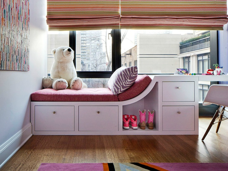 girl's room with reading lounger