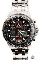 Montre Citizen Titane radio-pilotée bracelet acier JY0080-62E Cher PAPA, Cette montre de qualité, te serra fidèle en toute circonstance #FDTIMEFY