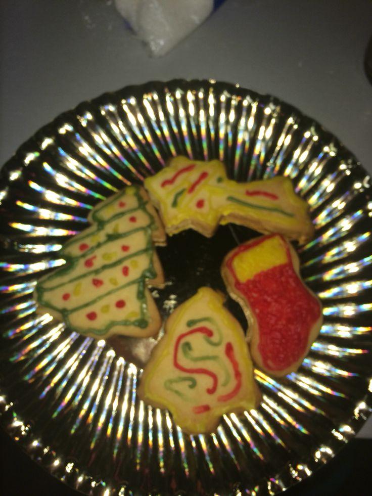 Galletas de mantequilla casera con motivos navideños | Mis