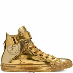 #SPLURGE Pinterest - @houstonsoho | @converse Chuck Taylor All Star Brea #GOLD Metallic #SNEAKERS
