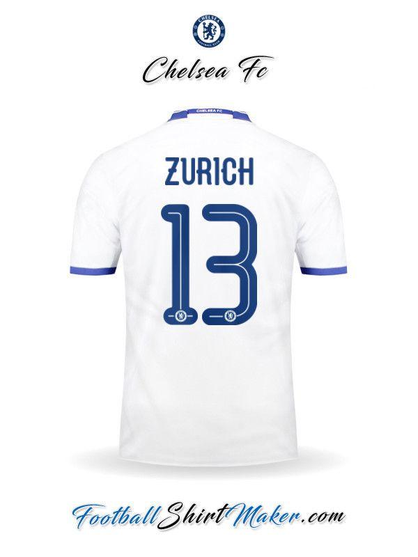Camiseta Chelsea 2016/2017 UCL Tercero Zurich 13