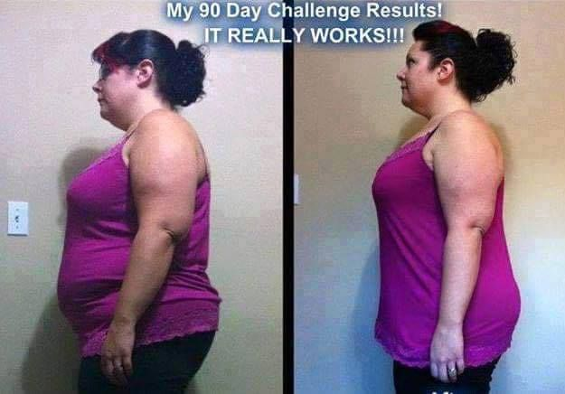 """WOOT WOOT! Check out Aprils story~~~ Order your Skinny Fiber now & receive a FREE bottle with every order www.sleekbods.com """"Ok, I am ready to share my results pictures. Still makes me really nervous but if just one person can learn from my experience and change their lives, then I am ok with it!... These are my 90 day challenge results! I have lost 13 kilos/ 29 lbs, and 22 inches! 9 inches off my waist alone!!! I have more energy, and I just FEEL better! My junk food cravings are GONE…"""