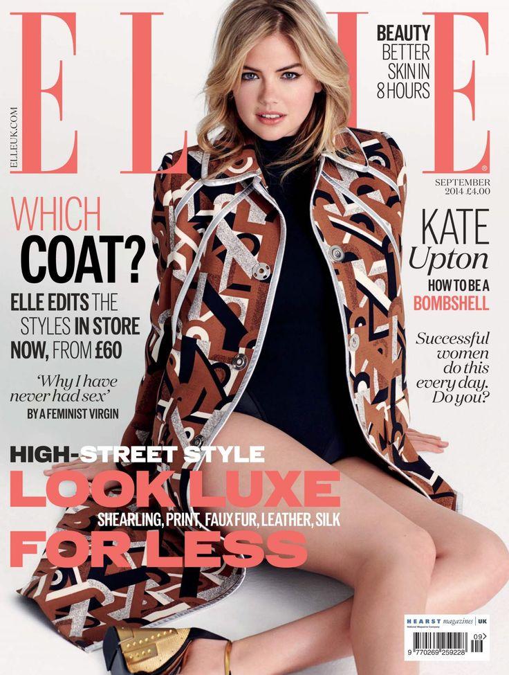 Kate Upton - Sept. 2014 U.K. Cover