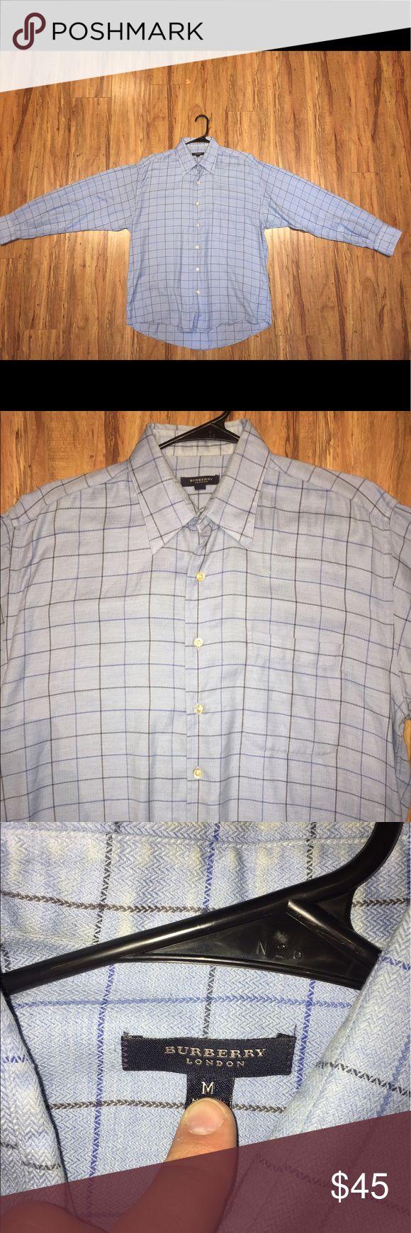 Burberry London Button Down Shirt Men's Size Medium. Burberry London Cashmere Blend Button Down Shirt. Burberry Shirts Casual Button Down Shirts