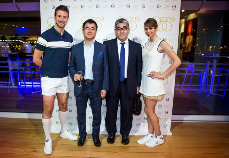 """In 2016, Sergio Tacchini celebrates its 50th birthday and has come up with a """"50th Anniversary"""" Special Edition polo to mark the occasion."""
