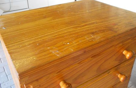 makeover pine furniture with rustoleum spray paint