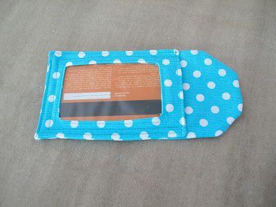 Couture à la maison - Sewing at home: Luggage tag ou étiquette à bagage d'après Studio Cherie