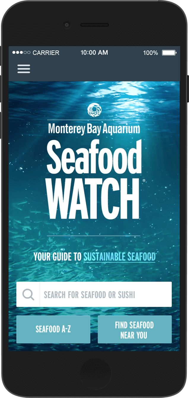 monterey bay aquarium sustainable seafood guide