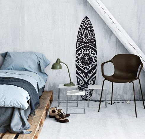 Adesivo de Parede Prancha Maori: Boneyard Secret, Beach Houses, Adhesives, Room Decoration, Room Ideas, Adhesive De