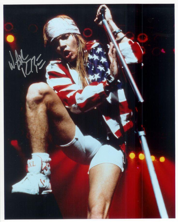 Axl Rose Biker Shorts Bulge Guns N' Roses