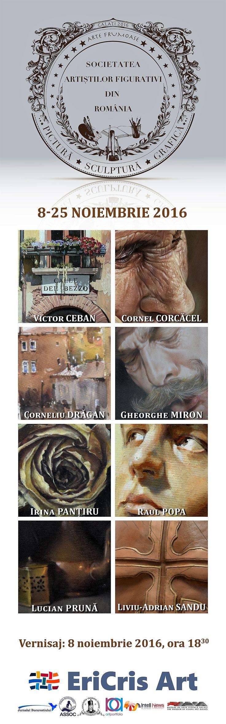Galeria EriCris Art,  expoziție de grup :  pictură, sculptură și grafică - http://www.intellnews.ro/galeria-ericris-art-expozitie-de-grup-pictura-sculptura-si-grafica/