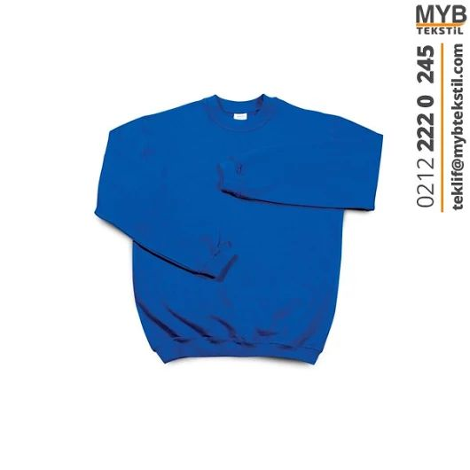 Sweat T-Shirt Bisiklet Yaka Uzun Kollu