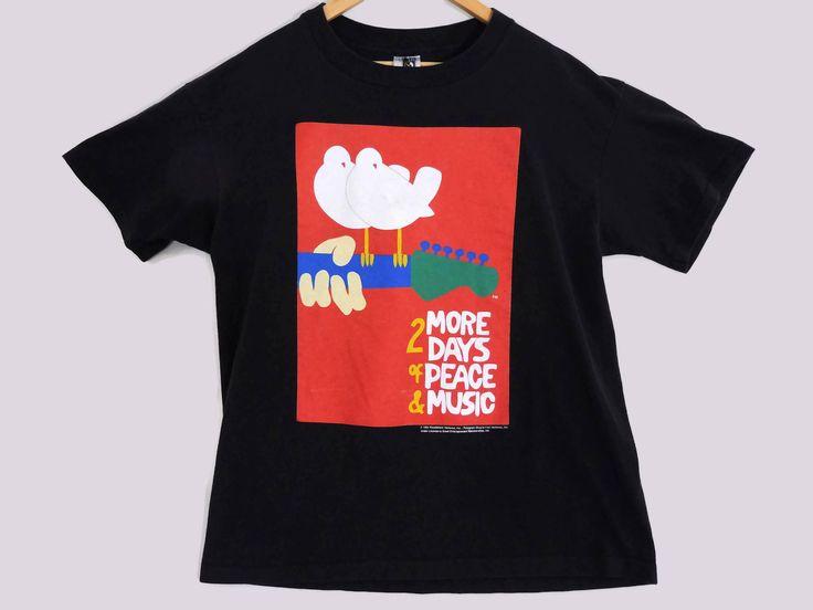 Vintage Woodstock Shirt eBay