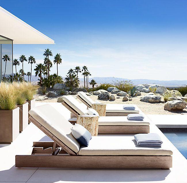 Merida Chaise Outdoor Pool Furniture Poolside Decor Outdoor Furniture Design