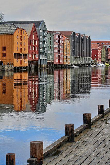 Bakklandet, Trondheim, Norway. On the schedule for July 2015!