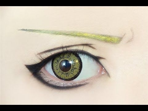 Fullmetal Alchemist - Edward Elric eye makeup tutorial O.O