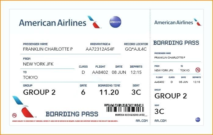 Aa Flight Reservation American Airlines Online Flight Booking At Lowest Fares Get American Airlines Flight Sta American Airlines Ticket Template Plane Tickets
