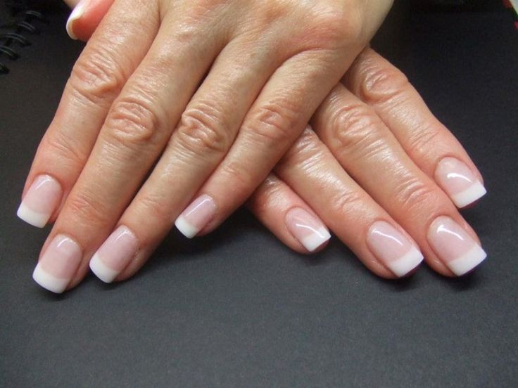 14 best French Nails Designs images on Pinterest | White tip nails ...