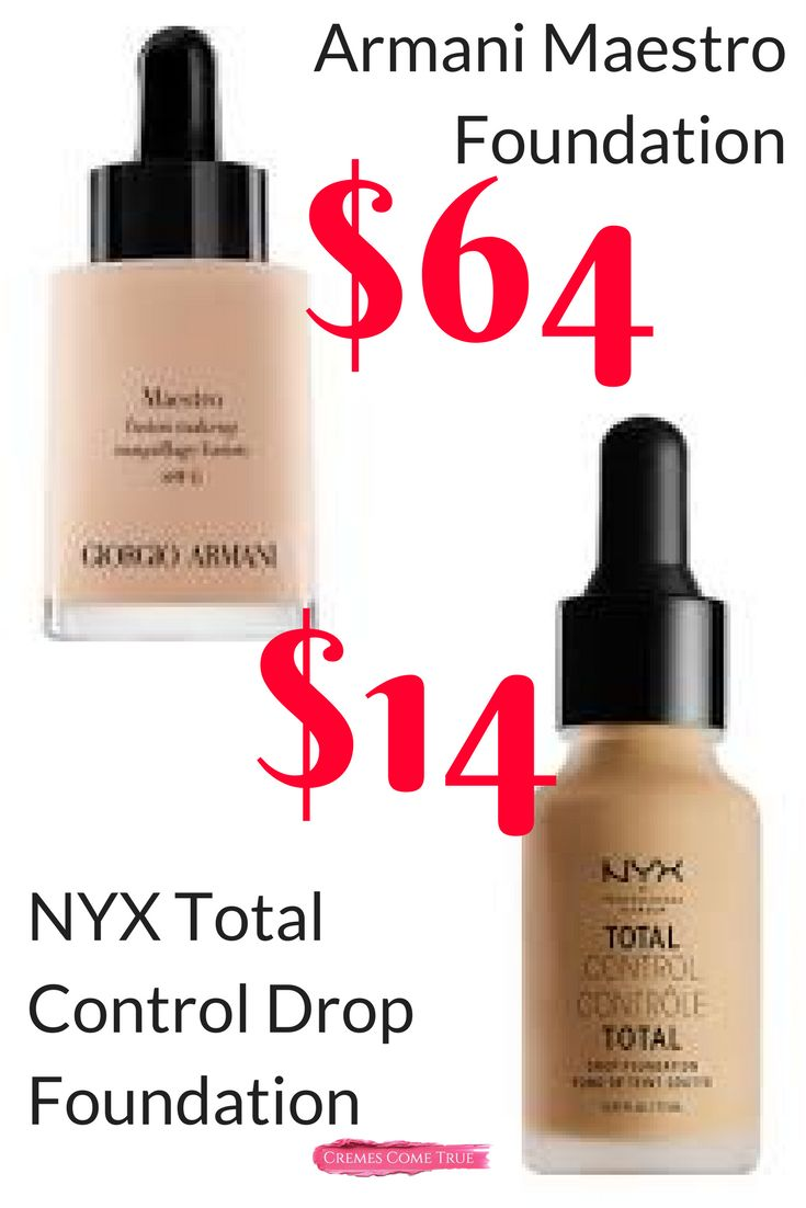 I've tried both and the NYX was the winner for me.  Review of my tips for the best application of this velvety matte foundation.