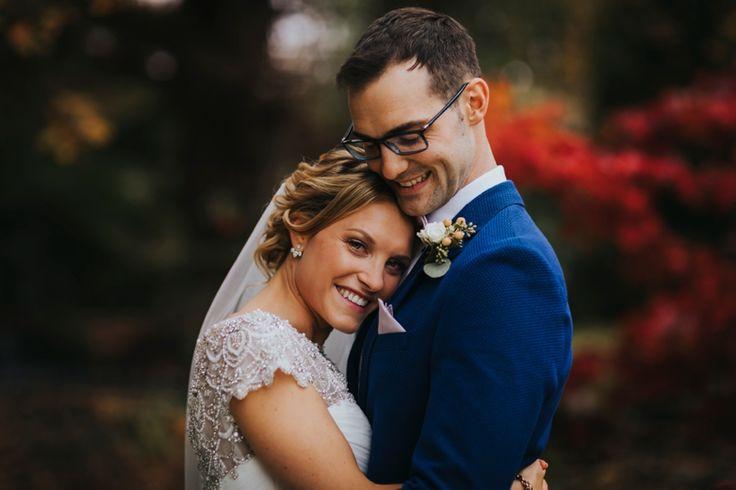 Keeping warm on a chilly winter's day. Photo by Benjamin Stuart Photography #weddingphotography #brideandgroom #justmarried #weddingday #happycouple #couplephoto
