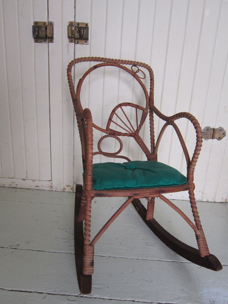 67 best old school wicker images on pinterest wicker for Bent bamboo furniture