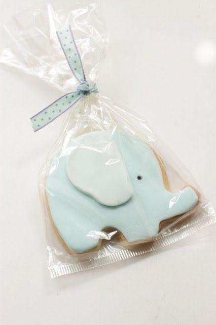 cute elephant cookies!