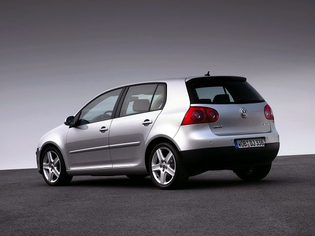 Volkswagen Golf 5 - I learned to drive on one of these.