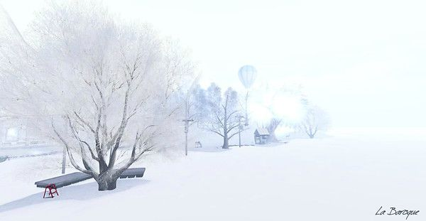 LaViere & Teefy L'ultima neve - The last snow (no retouched) Taken at http://maps.secondlife.com/secondlife/Inspiration%20Point/206/51/21
