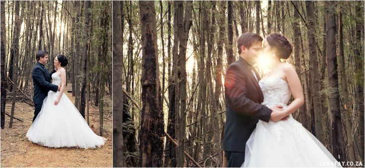 Wedding Photography Woodland wedding www.lunafay.co.za