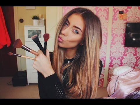 My Everyday (DRUGSTORE) Make up Tutorial   Danielle Mansutti ♡ - YouTube