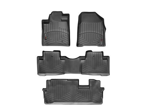 2014 Honda Pilot | WeatherTech FloorLiner - car floor mats liner, floor tray protects and lines the floor of truck and SUV carpeting from mud, snow, water and dirt | WeatherTech.com