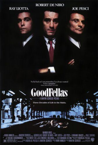 Directed by Martin Scorsese. With Robert De Niro, Ray Liotta, Joe Pesci, Lorraine Bracco. Henry Hill and his friends work their way up through the mob hierarchy.