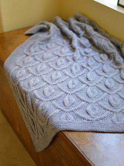 Pattern For Knitted Throw Blanket : 17 Best images about Afghan Knitting Patterns on Pinterest Cable knit blank...