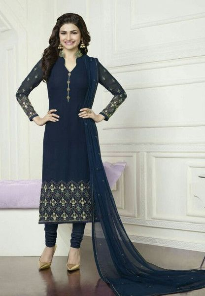 #Kaseesh #Prachi Indian #SalwarKameez Suit Vol16 3575 #Blue
