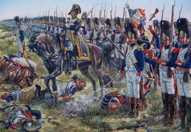 Assalto dei granatieri della guardia imperiale francese guidati da Dorsenne