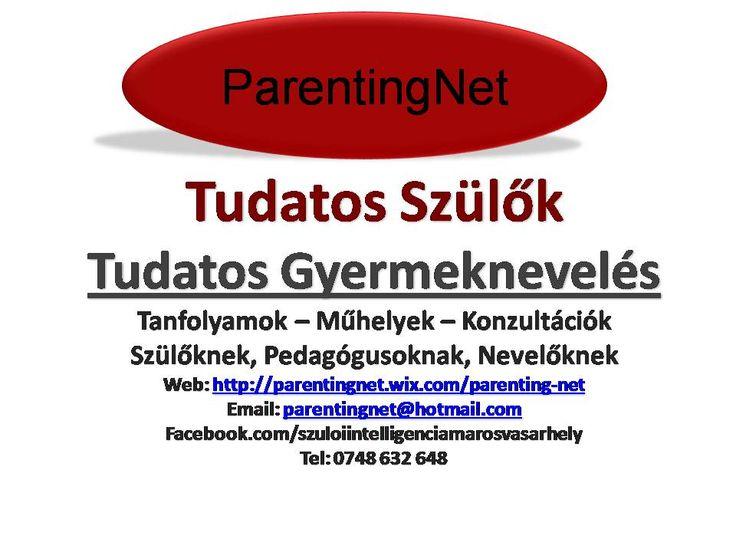 Gyereknevelés, Szülői Tréningek, Szülői Munkaműhelyek