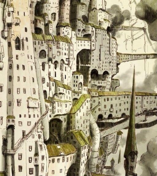 "bcbtn: "" 「シドニア百景」 1話〜5話 "" Knights of Sidonia by Tsutomu Nihei"