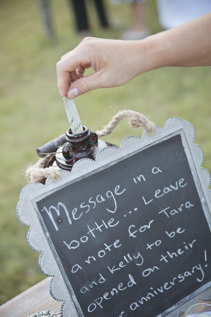 Message in a bottle guest notes