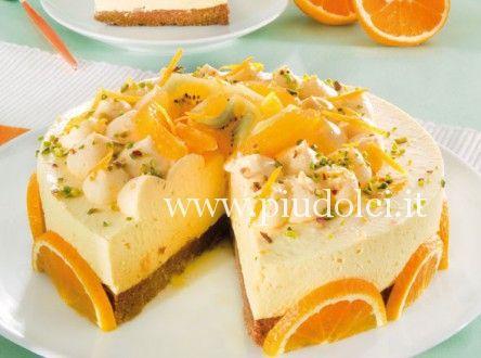 Cheesecake stupore all' arancia