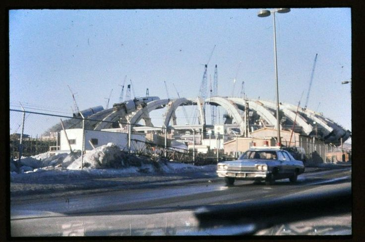Stade Olympique construction