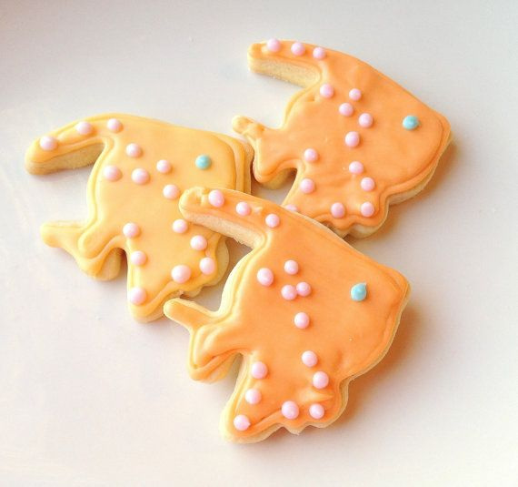 Tropical Fish Sugar Cookie Iced Decorated by SugarMeDesserterie