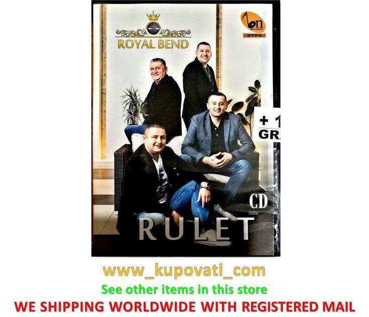 CD ROYAL BEND RULET ALBUM 2018 BN MUSIC NARODNA KRAJISKA MUZIKA REPUBLIKA SRPSKA
