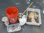 DIY fossil/dinosaur dig