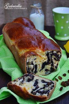 Gabriella kalandjai a konyhában :): Foszlós citromos-mákos kalács