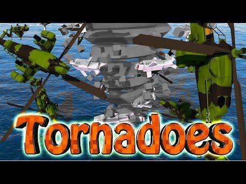 ▶ Minecraft | TORNADO VS PLANES CHALLENGE - Plane Inside Tornado! (Tornadoes, Planes, Hurricanes) - YouTube