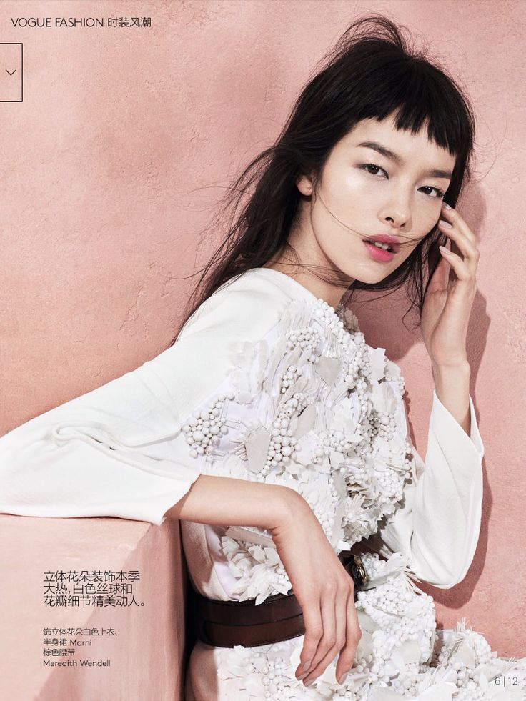 """Modern Romance"" Fei Fei Sun by Sharif Hamza for Vogue China May 2014"
