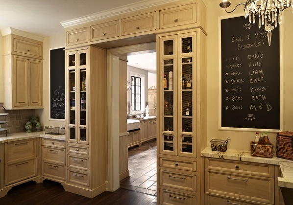 I Love The Built In Cabinets Around The Door Kitchens