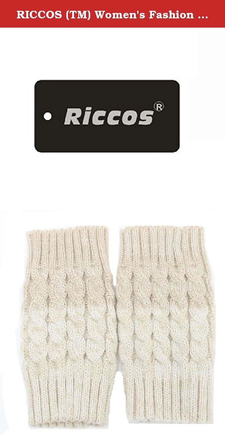 RICCOS (TM) Women's Fashion Winter Crochet Kintted Warm Gradient Colouring Boot Cuffs Toppers Short Leg Sockings (Beige). It is very warm and the design is keep up with the fashion. RICCOS knitted and Multi Colors leggings for a fun and fashionable effect.