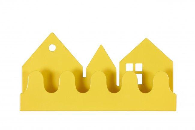 Roommate Village kapstok geel