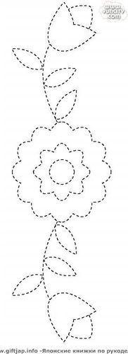 ojibwe floral applique patterns - Google Search